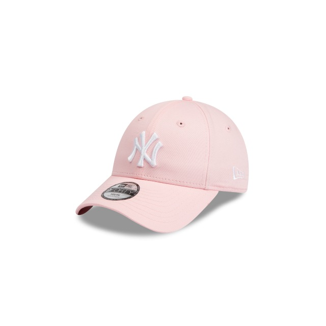 NEW YORK YANKEES PINK YOUTH 9FORTY 3 quarter left view