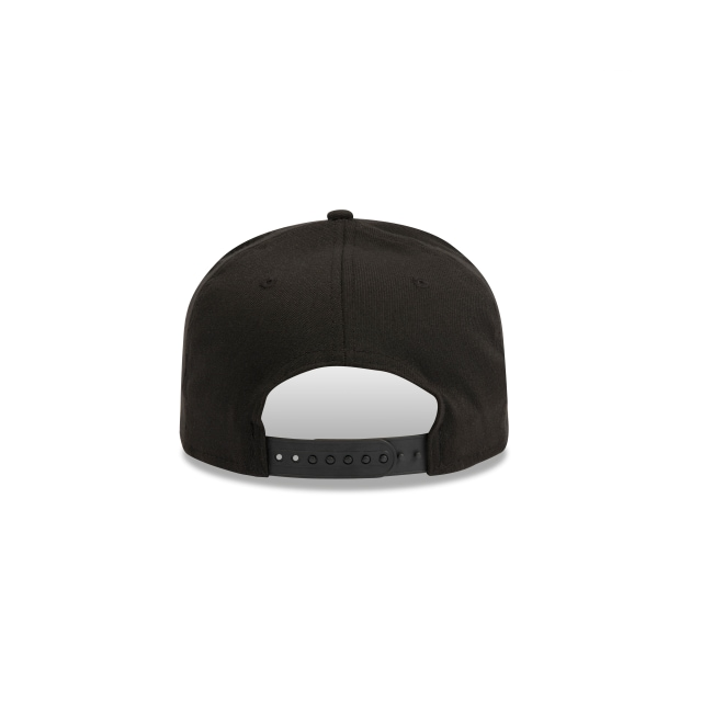 Brooklyn Nets Black 9fifty Stretch Snapback | Brooklyn Nets Basketball Caps | New Era Cap