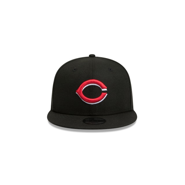 Cincinnati Reds Black Youth 9fifty | Cincinnati Reds Baseball Caps | New Era Cap