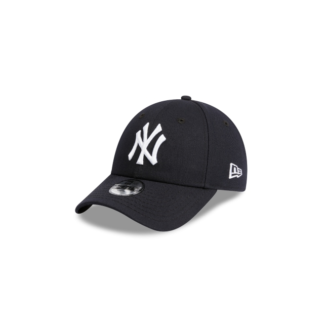 NEW YORK YANKEES NAVY YOUTH 9FORTY 3 quarter left view