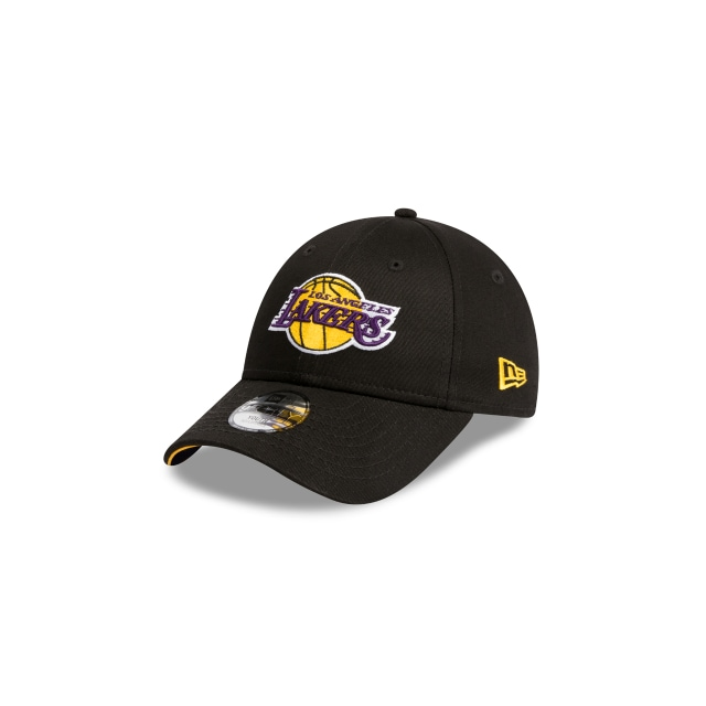 LOS ANGELES LAKERS BLACK YOUTH 9FORTY 3 quarter left view