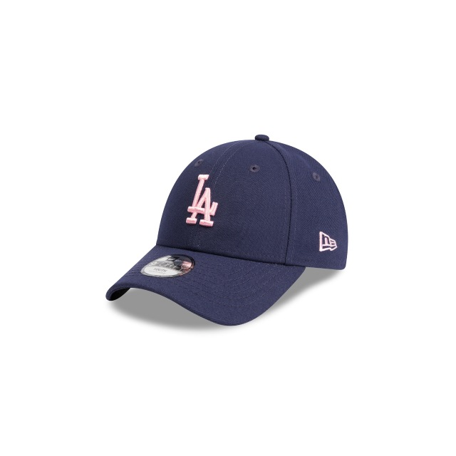 LOS ANGELES DODGERS DARK ROYAL YOUTH 9FORTY 3 quarter left view
