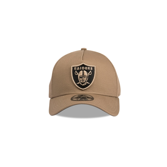 Oakland Raiders Light Brown 9forty A-frame | Oakland Raiders Football Caps | New Era Cap