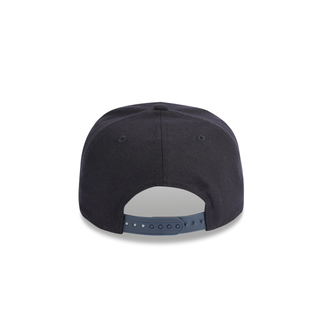 X-large Navy 9fifty Original Fit Pre-curved Snapback | Custom Caps | New Era Cap