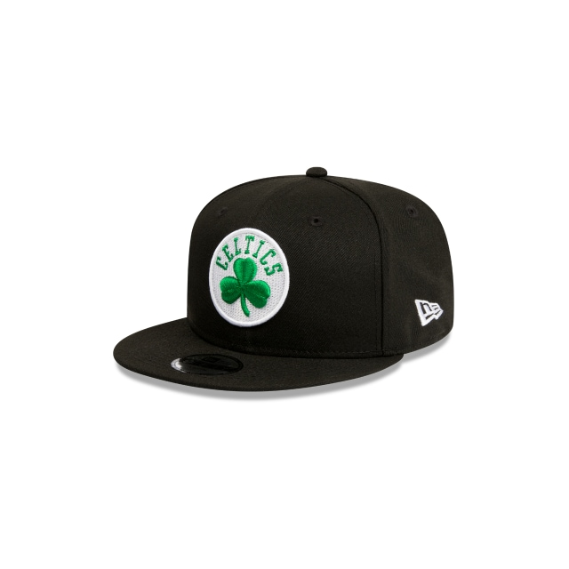 BOSTON CELTICS BLACK YOUTH 9FIFTY 3 quarter left view
