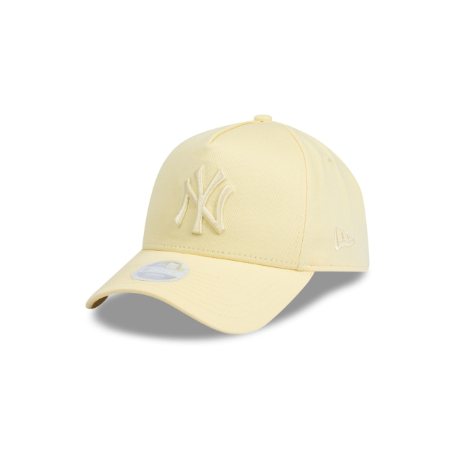 New York Yankees Pastel Yellow Womens 9forty A-frame | New Era Cap