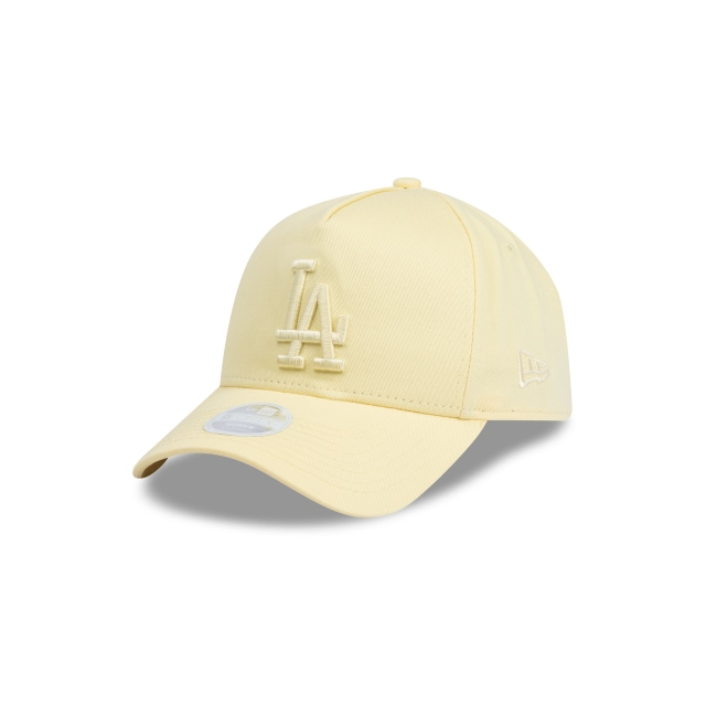Los Angeles Dodgers Pastel Yellow Womens 9forty A-frame | New Era Cap