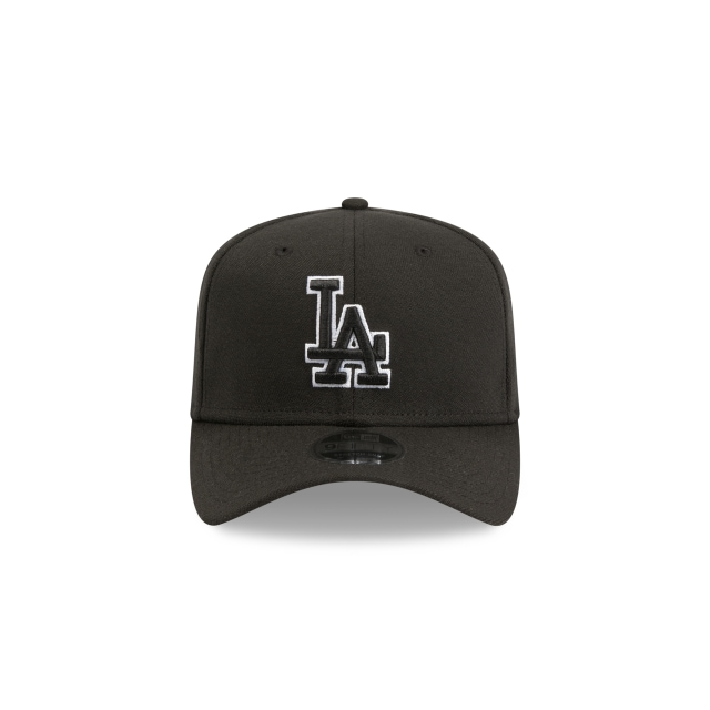 Los Angeles Dodgers Black 9fifty Stretch Snapback | Los Angeles Dodgers Baseball Caps | New Era Cap
