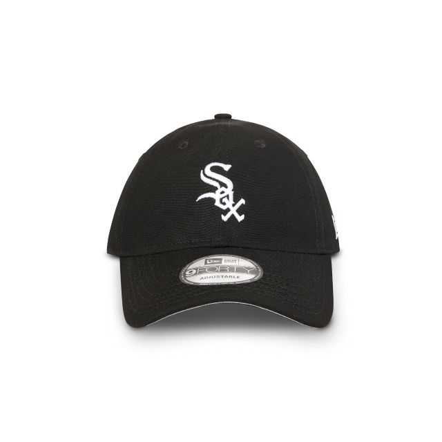 Chicago White Sox Washed Black Unstructured 9forty | Chicago White Sox Baseball Caps | New Era Cap