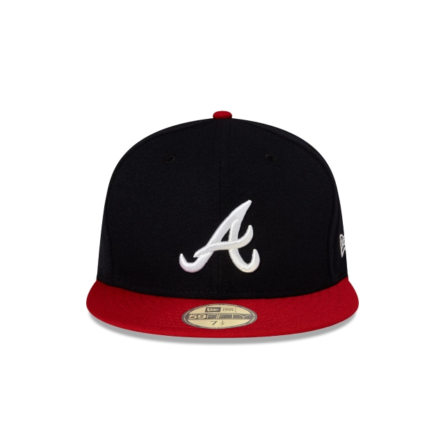 ebf3140f06d Atlanta Braves Authentic Collection 59fifty Fitted