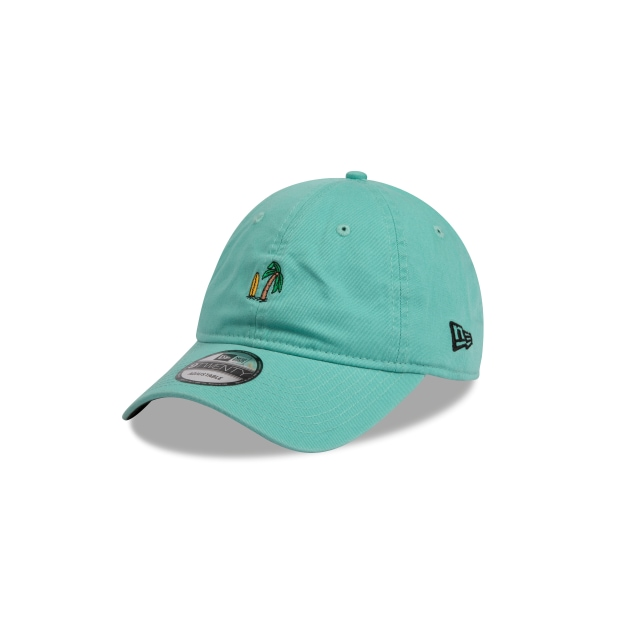 Palm Tree Washed Mint 9twenty | Cus 920 Caps | New Era Cap