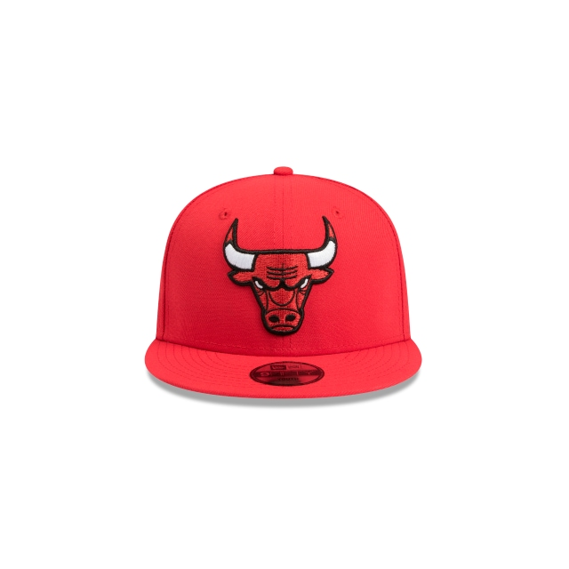 Chicago Bulls Red Youth 9fifty | Chicago Bulls Basketball Caps | New Era Cap