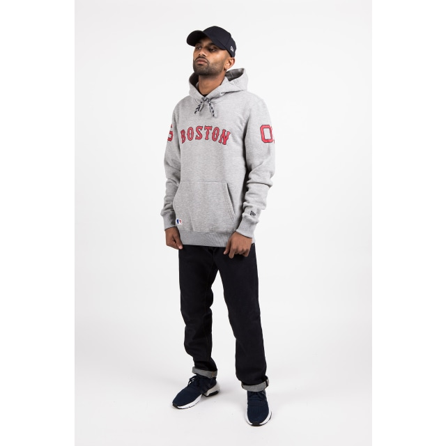 Boston Red Sox Light Grey Heather Hoodie | Boston Red Sox Baseball Caps | New Era Cap