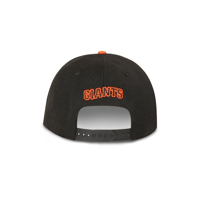San Francisco Giants Black 9fifty Snapback | San Francisco Giants Baseball Caps | New Era Cap