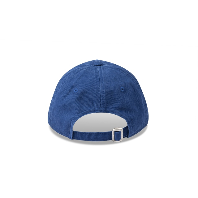 CHICAGO CUBS WASHED LIGHT ROYAL WOMENS 9FORTY Rear view
