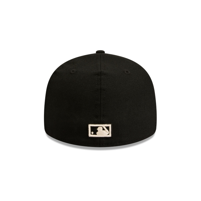 New York Yankees Cooperstown Black Retro Crown 59fifty Fitted | New York Yankees Baseball Caps | New Era Cap