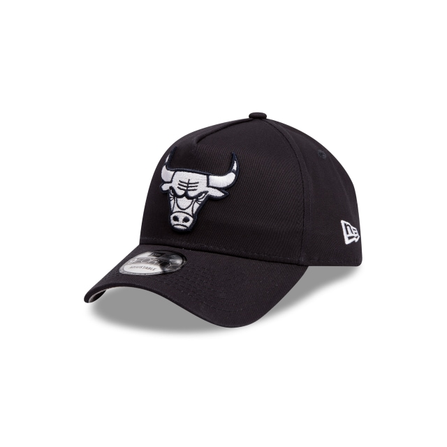 Chicago Bulls Navy Grey 9forty A-frame | New Era Cap