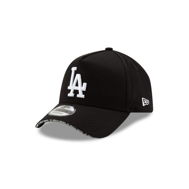 Los Angeles Dodgers Visor Script 9forty A-frame | New Era Cap
