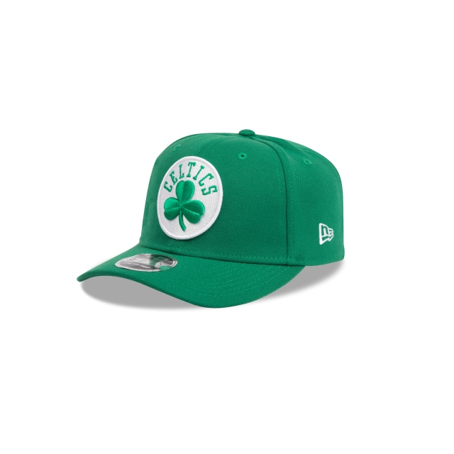 BOSTON CELTICS KELLY GREEN 9FIFTY STRETCH SNAPBACK 3 quarter left view