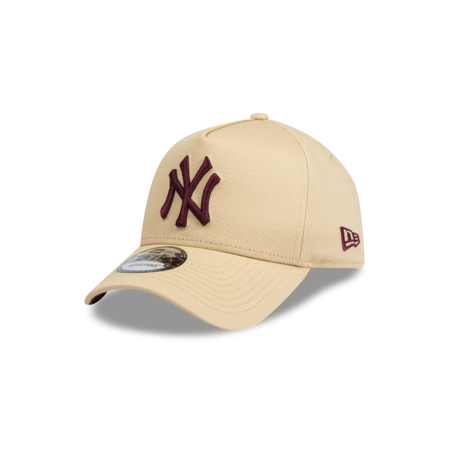 New York Yankees Gold And Maroon 9forty A-frame | New Era Cap