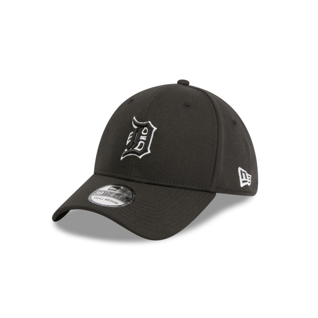 Detroit Tigers Black 39thirty | Detroit Tigers Baseball Caps | New Era Cap
