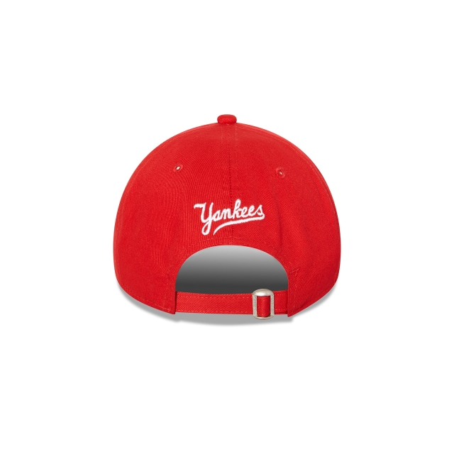 New York Yankees Red 9forty | New York Yankees Baseball Caps | New Era Cap