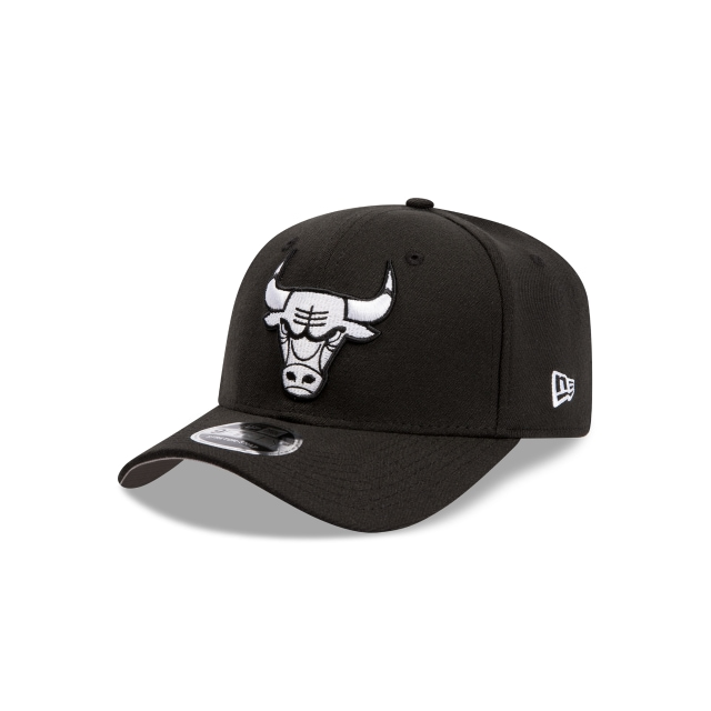Chicago Bulls Black And White 9fifty Stretch Snapback | New Era Cap