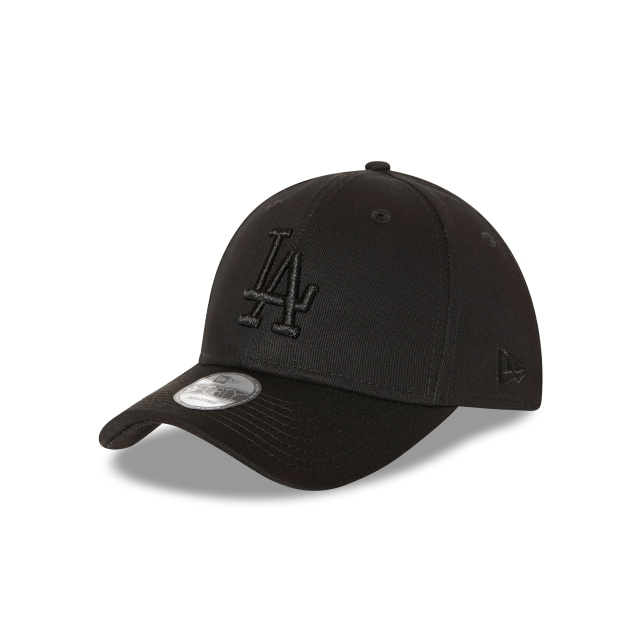 Los Angeles Dodgers Black On Black 9forty | Los Angeles Dodgers Baseball Caps | New Era Cap