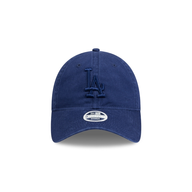 LOS ANGELES DODGERS WASHED DARK ROYAL WOMENS 9TWENTY Front view