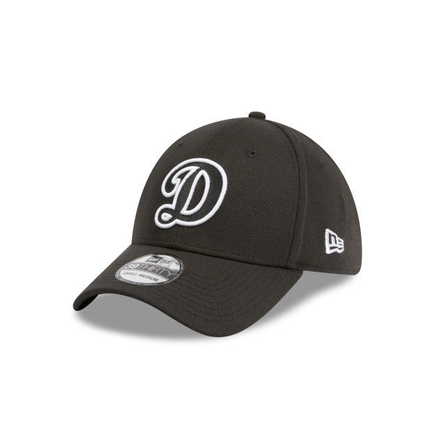 factory price ce8b3 8fc56 Los Angeles Dodgers Black And White 39thirty   Los Angeles Dodgers Baseball  Caps   New Era