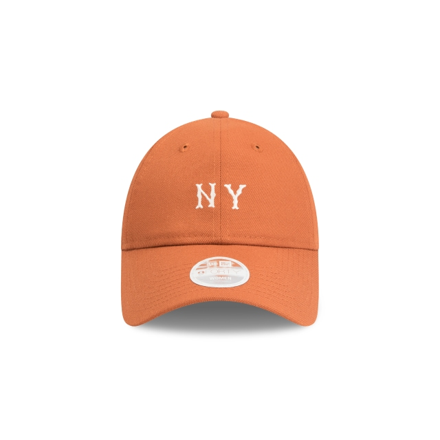 New York Yankees Cooperstown Rust Womens Unstructured 9forty | New York Yankees Baseball Caps | New Era Cap