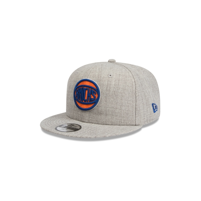 New York Knicks Heather Grey Youth 9fifty | New York Knicks Basketball Caps | New Era Cap