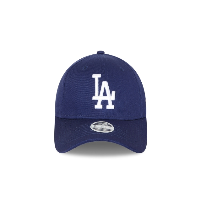 LOS ANGELES DODGERS DARK ROYAL WOMENS 9FORTY Front view
