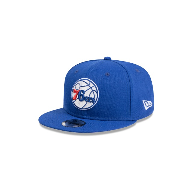 PHILADELPHIA 76ERS BLUE YOUTH 9FIFTY 3 quarter left view