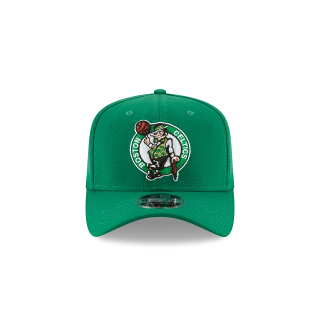 BOSTON CELTICS KELLY GREEN 9FIFTY STRETCH SNAPBACK Front view