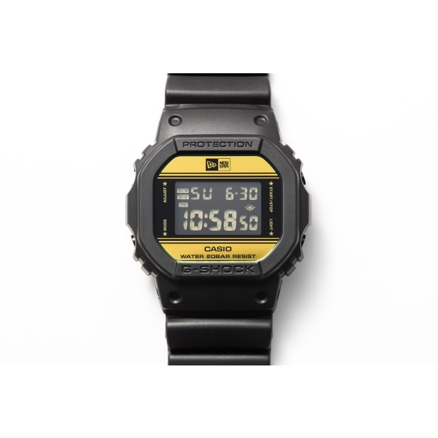 G-SHOCK X NEW ERA WATCH 3 quarter left view