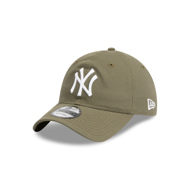 NEW YORK YANKEES NEW OLIVE 9TWENTY 3 quarter left view