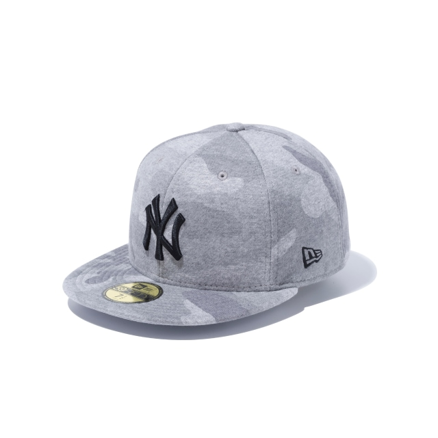 694f1ff8372 New York Yankees Grey Marl Camo 59fifty Fitted