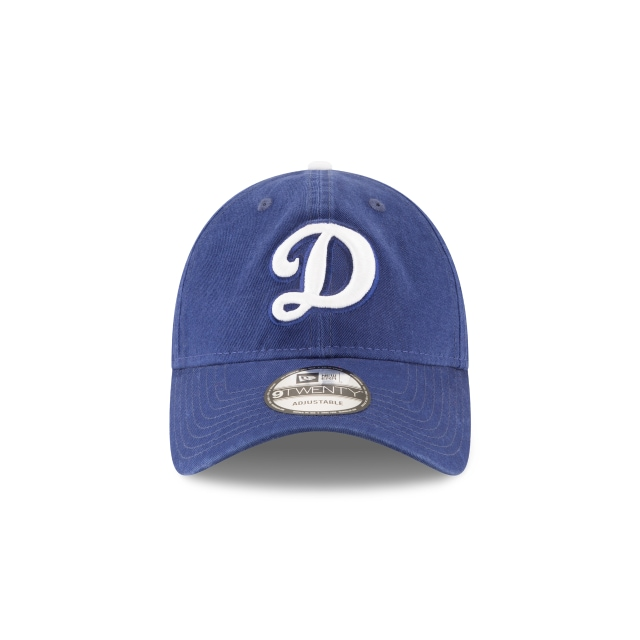 LOS ANGELES DODGERS WASHED DARK ROYAL 9TWENTY Front view