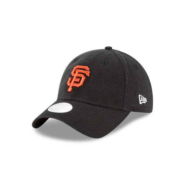 San Francisco Giants Washed Black Womens 9twenty | San Francisco Giants Baseball Caps | New Era Cap