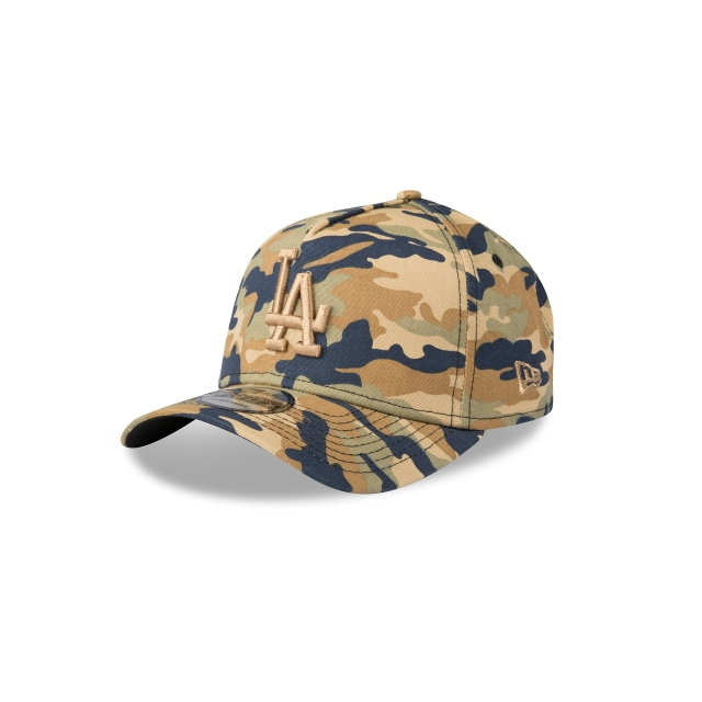 Los Angeles Dodgers Camo 9forty A-frame | New Era Cap