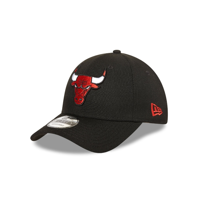 Chicago Bulls Black Red 9forty | New Era Cap