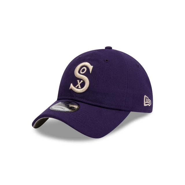 CHICAGO WHITE SOX COOPERSTOWN PURPLE 9TWENTY 3 quarter left view