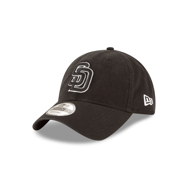 SAN DIEGO PADRES BLACK 9TWENTY 3 quarter left view
