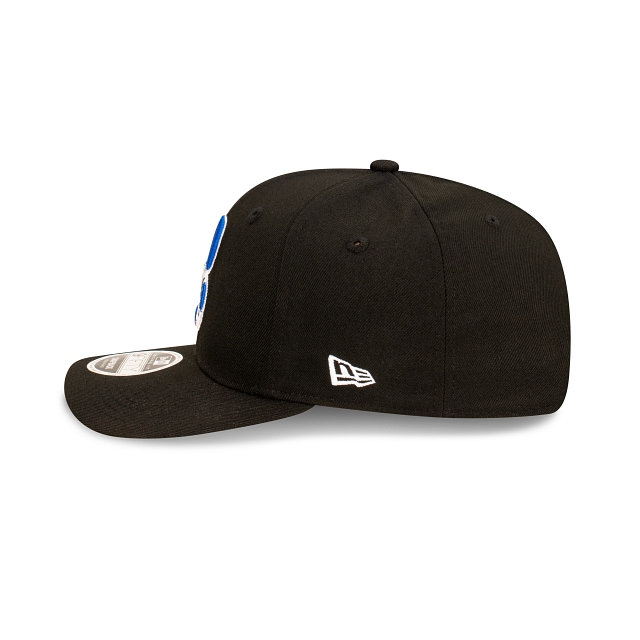 Canterbury Bankstown Bulldogs Black And Official Team Colours Original Fit 9FIFTY Snapback | Canterbury-bankstown Bulldogs Hats | New Era Cap
