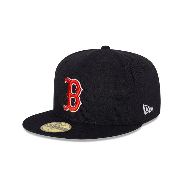 BOSTON RED SOX AUTHENTIC COLLECTION 59FIFTY FITTED 3 quarter left view