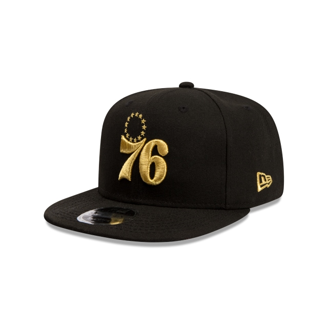 Philadelphia 76ers Black Gold 9fifty Original Fit | New Era Cap