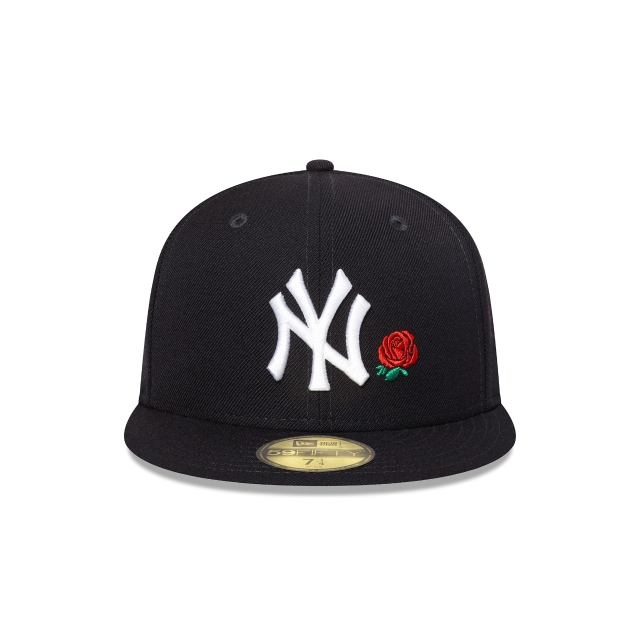 New York Yankees Rose 59fifty Fitted | New York Yankees Baseball Caps | New Era Cap