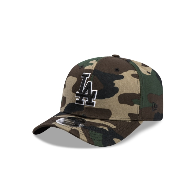 Los Angeles Dodgers Camo 9fifty Stretch Snapback | Los Angeles Dodgers Baseball Caps | New Era Cap