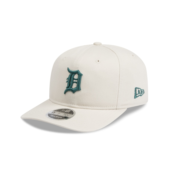 Detroit Tigers Stone Unstructured 9fifty Original Fit Pre-curved Snapback | New Era Cap